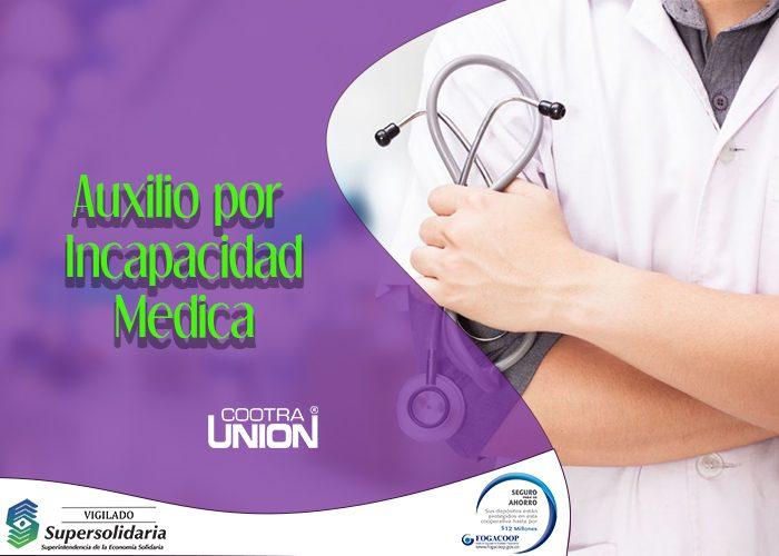 AUXILIO INCAPACIDAD MEDICA